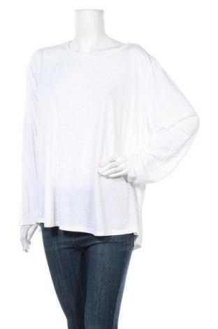 Γυναικεία μπλούζα Mink, Μέγεθος M, Χρώμα Λευκό, 65% πολυεστέρας, 35% βισκόζη, Τιμή 10,36€