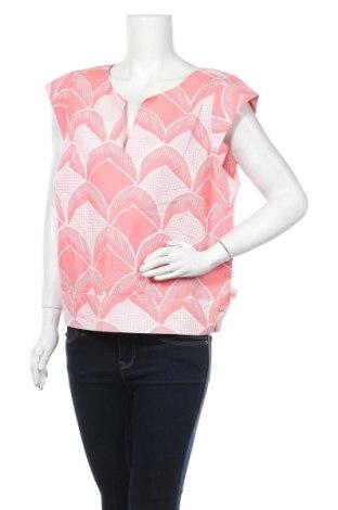 Дамска блуза Mix, Размер XL, Цвят Червен, Памук, Цена 22,94лв.