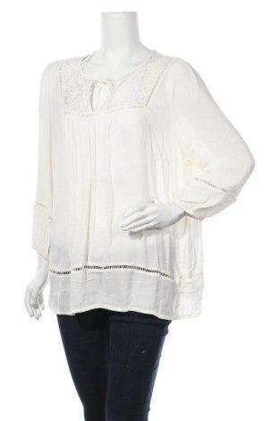 Дамска блуза Mix, Размер XL, Цвят Екрю, Полиестер, Цена 33,60лв.