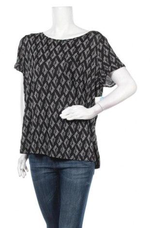Дамска блуза Mix, Размер XL, Цвят Черен, Вискоза, еластан, Цена 25,20лв.