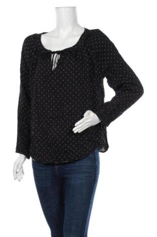 Дамска блуза Mix, Размер XL, Цвят Черен, Вискоза, Цена 17,85лв.