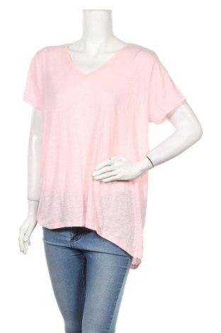 Дамска блуза Mix, Размер XL, Цвят Розов, Полиестер, памук, вискоза, Цена 18,90лв.