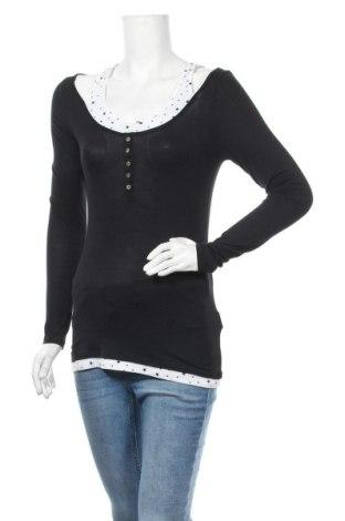 Дамска блуза My Hailys, Размер S, Цвят Черен, Вискоза, Цена 14,18лв.