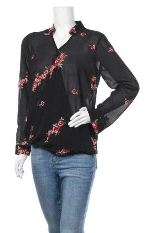 Дамска блуза My Hailys, Размер M, Цвят Черен, 100% полиестер, Цена 19,95лв.