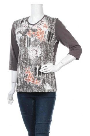 Дамска блуза Navigazione, Размер M, Цвят Сив, 95% памук, 5% еластан, Цена 8,03лв.
