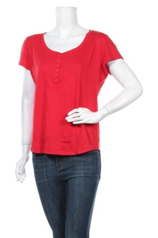Γυναικεία μπλούζα New York & Company, Μέγεθος L, Χρώμα Κόκκινο, 65% πολυεστέρας, 35% βαμβάκι, Τιμή 17,66€