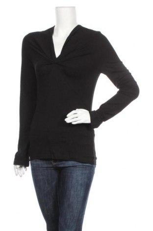 Дамска блуза Nicowa, Размер M, Цвят Черен, 90% вискоза, 10% еластан, Цена 6,79лв.