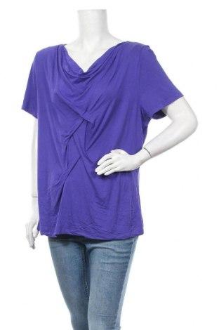 Дамска блуза Noni B, Размер XL, Цвят Лилав, Вискоза, еластан, Цена 17,85лв.