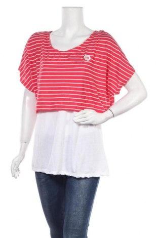 Γυναικεία μπλούζα Okay, Μέγεθος XL, Χρώμα Ρόζ , 50% πολυεστέρας, 50% βισκόζη, Τιμή 14,55€