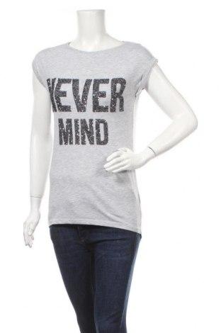 Дамска блуза One Love, Размер XS, Цвят Сив, 65% полиестер, 35% вискоза, Цена 5,15лв.