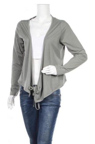 Дамска блуза One World, Размер L, Цвят Зелен, 52% памук, 40% модал, 8% еластан, Цена 6,43лв.