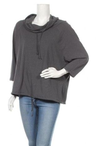 Дамска блуза One World, Размер XL, Цвят Сив, 52% памук, 40% модал, 8% еластан, Цена 10,58лв.