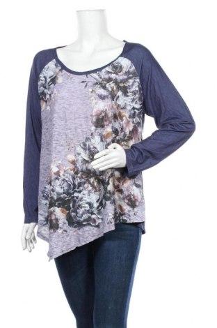 Дамска блуза One World, Размер XL, Цвят Многоцветен, 95% полиестер, 5% еластан, Цена 25,94лв.