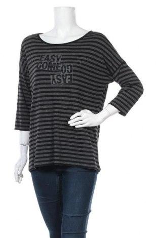Дамска блуза Opus, Размер XL, Цвят Черен, 95% вискоза, 5% еластан, Цена 10,08лв.