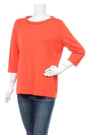 Дамска блуза Opus, Размер XL, Цвят Оранжев, 88% вискоза, 8% полиамид, 4% еластан, Цена 5,12лв.