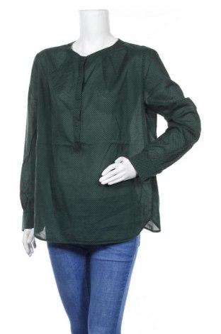 Дамска блуза Oui, Размер XL, Цвят Зелен, Памук, Цена 33,75лв.
