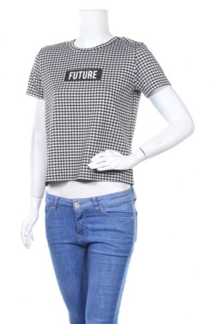 Дамска блуза Page One, Размер S, Цвят Черен, 86% полиестер, 13% вискоза, 1% еластан, Цена 15,12лв.