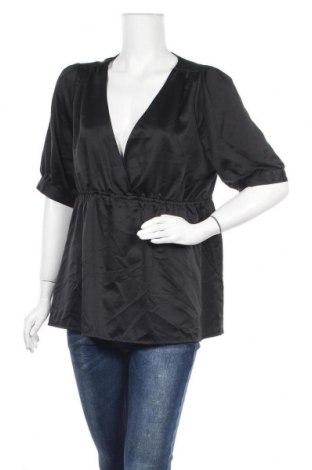 Дамска блуза Paprika, Размер XXL, Цвят Черен, Полиестер, Цена 15,17лв.