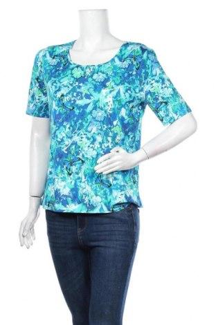 Дамска блуза Peter Hahn, Размер L, Цвят Многоцветен, 94% вискоза, 6% еластан, Цена 19,85лв.