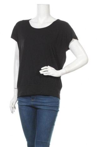 Дамска блуза Peter Hahn, Размер M, Цвят Черен, 92% памук, 8% еластан, Цена 26,88лв.