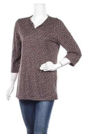 Дамска блуза Peter Hahn, Размер M, Цвят Кафяв, Памук, Цена 37,91лв.