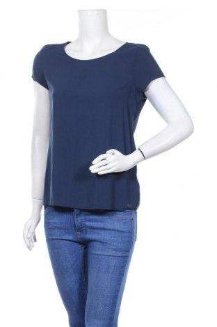 Дамска блуза Q/S by S.Oliver, Размер M, Цвят Син, Вискоза, Цена 18,00лв.