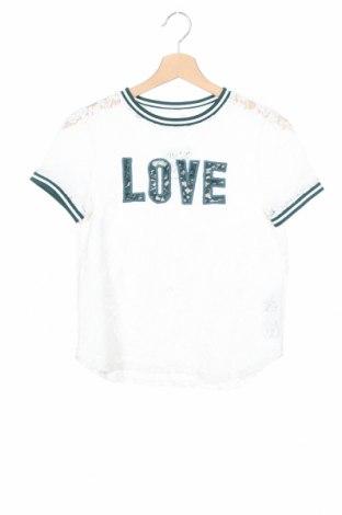 Дамска блуза Q/S by S.Oliver, Размер XS, Цвят Бял, 50% памук, 30% полиамид, 20% вискоза, Цена 16,50лв.