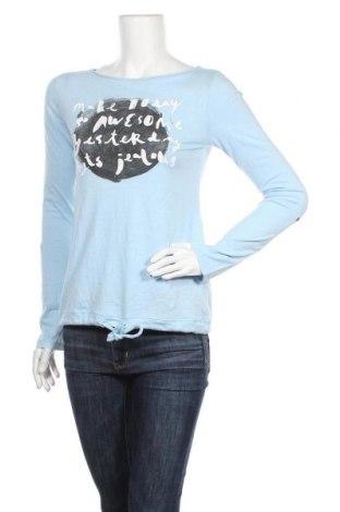 Дамска блуза Q/S by S.Oliver, Размер XS, Цвят Син, Памук, Цена 18,90лв.