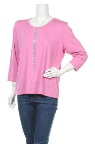 Дамска блуза Rabe, Размер XXL, Цвят Розов, 92% вискоза, 8% еластан, Цена 16,07лв.