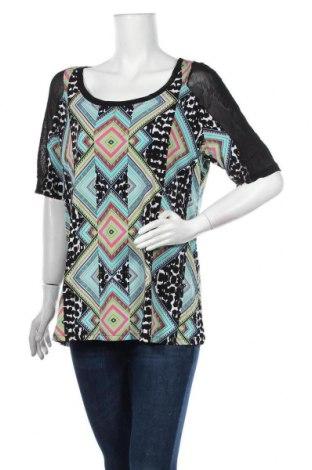 Дамска блуза Reitmans, Размер XL, Цвят Многоцветен, 95% полиестер, 5% еластан, Цена 17,85лв.