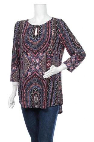 Дамска блуза Rockmans, Размер XL, Цвят Многоцветен, 95% полиестер, 5% еластан, Цена 18,90лв.