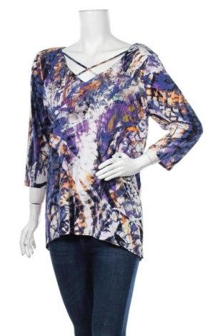 Дамска блуза Rockmans, Размер XL, Цвят Многоцветен, 95% полиестер, 5% еластан, Цена 17,96лв.