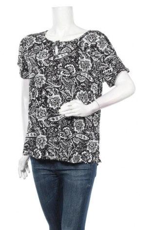 Дамска блуза Rockmans, Размер XL, Цвят Черен, Вискоза, Цена 14,96лв.