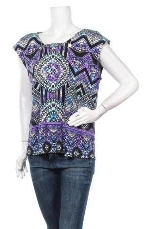 Дамска блуза Rockmans, Размер XL, Цвят Многоцветен, 95% полиестер, 5% еластан, Цена 15,75лв.