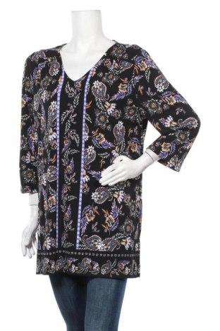 Дамска блуза Rockmans, Размер XXL, Цвят Многоцветен, Полиестер, еластан, Цена 17,96лв.