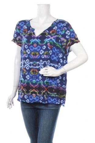 Дамска блуза Rockmans, Размер XXL, Цвят Многоцветен, Вискоза, Цена 16,80лв.