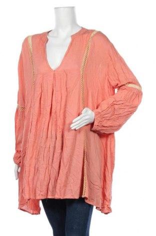 Дамска блуза Sass, Размер XL, Цвят Оранжев, Цена 10,40лв.