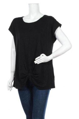 Дамска блуза Seed, Размер XL, Цвят Черен, 50% полиестер, 50% вискоза, Цена 15,17лв.