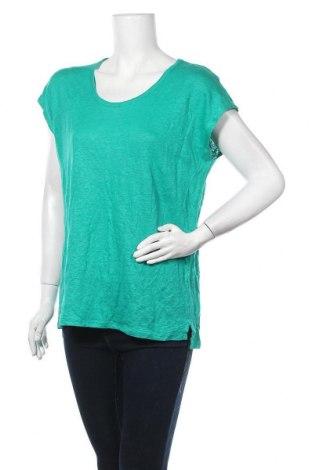 Дамска блуза Seed, Размер M, Цвят Зелен, 100% лен, Цена 17,96лв.