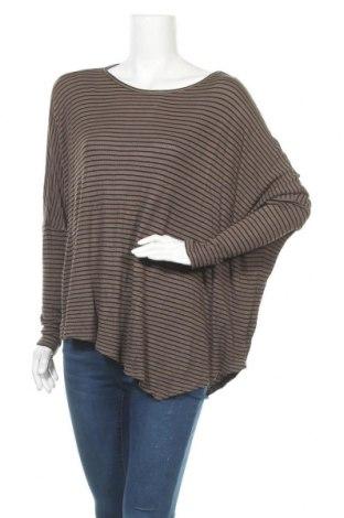Дамска блуза Seed, Размер M, Цвят Зелен, 95% модал, 5% еластан, Цена 8,51лв.