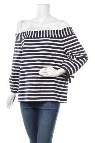 Дамска блуза Seed, Размер L, Цвят Син, Памук, Цена 17,96лв.
