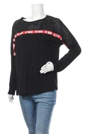 Дамска блуза Select, Размер M, Цвят Черен, 92% вискоза, 8% еластан, Цена 6,99лв.