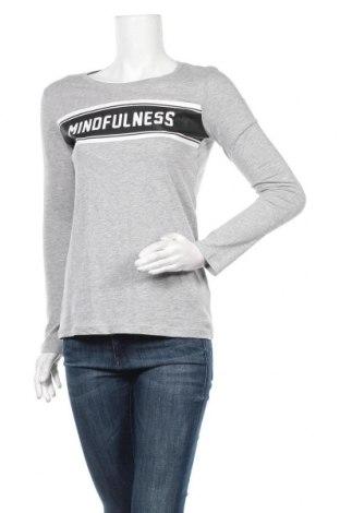 Γυναικεία μπλούζα Sinsay, Μέγεθος M, Χρώμα Γκρί, 93% βαμβάκι, 7% βισκόζη, Τιμή 7,79€