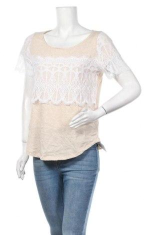 Дамска блуза Soho, Размер M, Цвят Бежов, Памук, Цена 16,80лв.