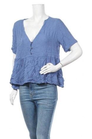 Дамска блуза Sportsgirl, Размер XL, Цвят Син, Вискоза, Цена 13,23лв.