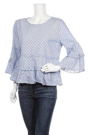 Дамска блуза Sportsgirl, Размер XL, Цвят Син, Памук, Цена 18,90лв.