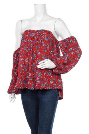 Дамска блуза Sportsgirl, Размер XL, Цвят Многоцветен, Вискоза, Цена 17,01лв.