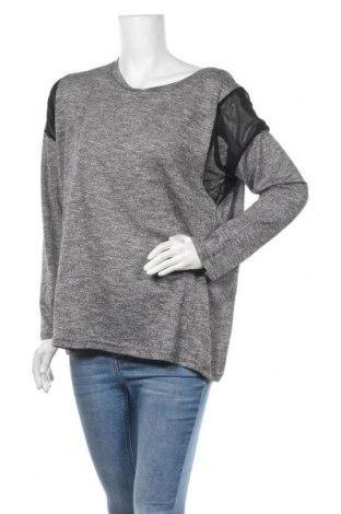 Дамска блуза Suiteboutique, Размер XL, Цвят Сив, 50% памук, 50% полиестер, Цена 11,60лв.