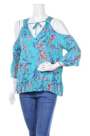 Дамска блуза Sussan, Размер XL, Цвят Многоцветен, Вискоза, Цена 12,50лв.