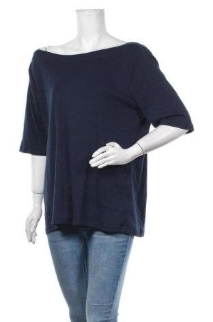 Дамска блуза Suzanne Grae, Размер 3XL, Цвят Син, Полиестер, памук, Цена 16,96лв.